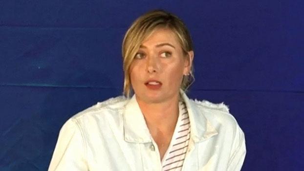 Sharapova se prepara para retorno às quadras: 'Quero que minha carreira termine sob meus termos'