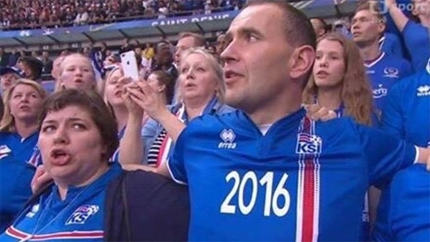 Gudni Johannesson Presidente Islandia Torcida Franca Euro-2016 03/07/2016