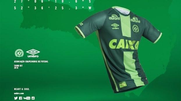 Chapecoense Camisa 3 32a4e7367ec84