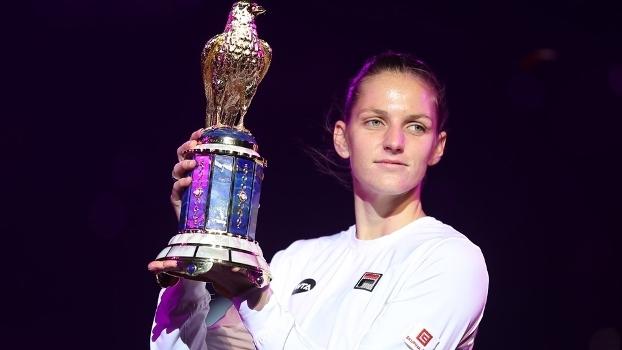 Karolina Pliskova Trofeu Premier Doha 18/02/2017