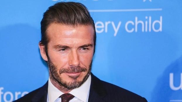 Beckham em recente evento do Unicef