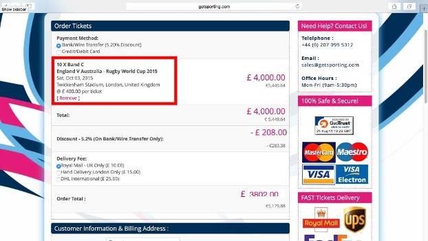 f413c4b9ad Suspeita de fraude na venda de ingressos para Copa do Mundo de Rugby ...