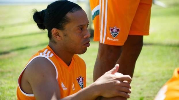 Ronaldinho deixou o Fluminense no último mês de setembro