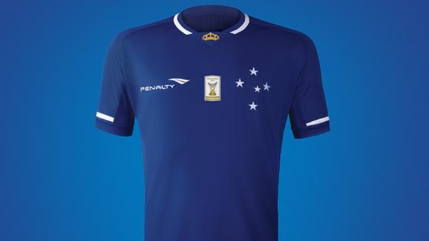 9aee23a79b Cruzeiro apresenta novo uniforme para a temporada 2015 - ESPN