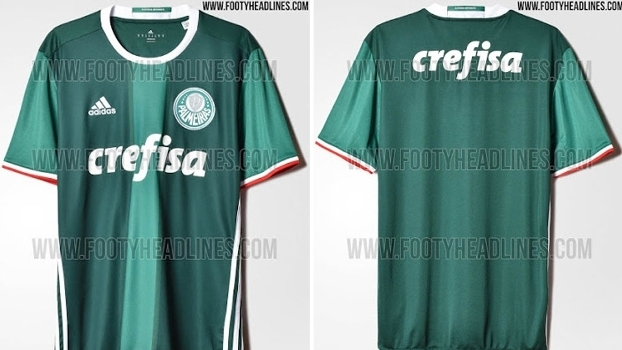 10b22c23aa Reprodução. Suposto novo uniforme do Palmeiras vazou na internet