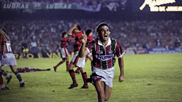 Renato Gaúcho marcou, para muitos, o gol mais famoso da história do clássico Fla-Flu, de barriga