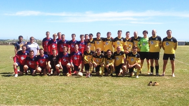 Ilhas Scilly Garrison Gunners Woolpack Wanderers