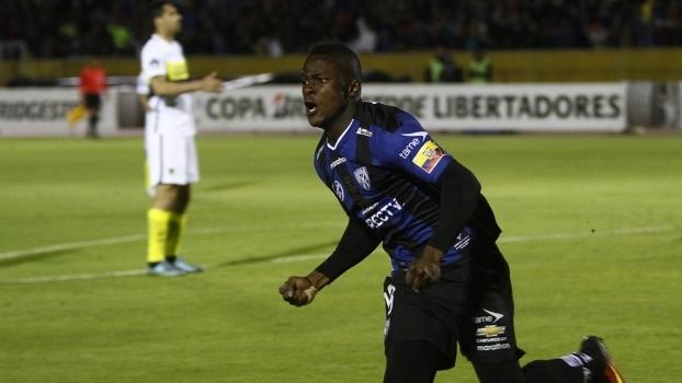 Jose Angulo foi um dos destaques do Del Valle na campanha na Libertadores