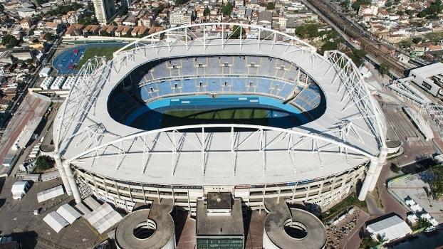 6ceebe5174 O estádio Nilton Santos é administrado pelo Botafogo