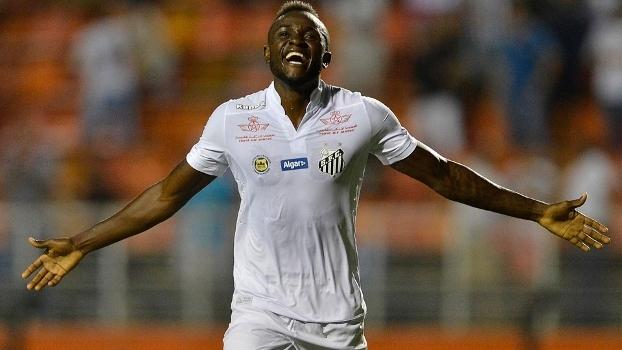 Na vaga de Ricardo Oliveira, Joel anotou dois gols na goleada santista