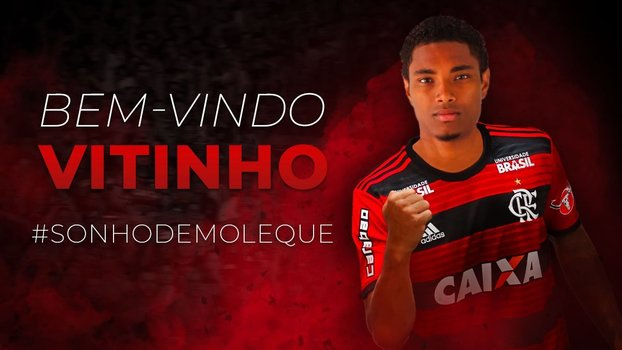 Vitinho é jogador do Flamengo 261cdd727ee1e