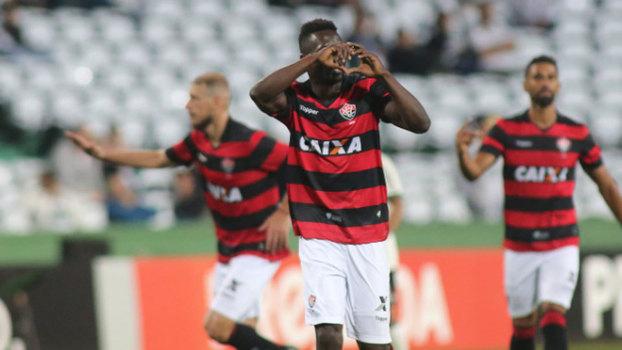 Kleber não vai mais voltar ao Coritiba contra o Vitória