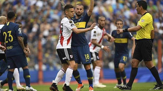 e4a041e10e Árbitro de 13 Boca x River detona escolha de uruguaio para final da  Libertadores e aconselha   Não pode se achar maior que o jogo