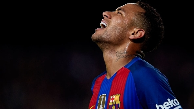 Neymar marcou apenas quatro gols no Espanhol até o momento
