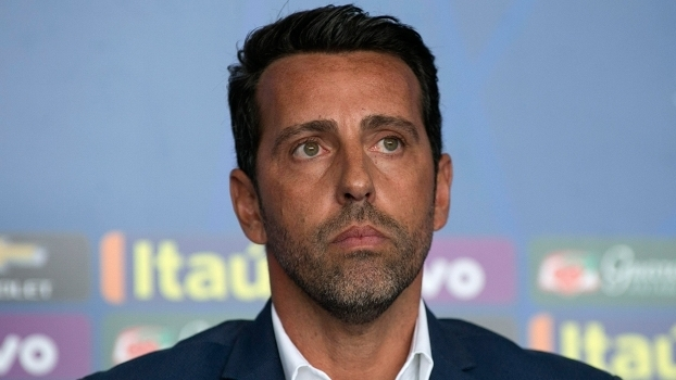 Edu Gaspar durante convocação da seleção brasileira