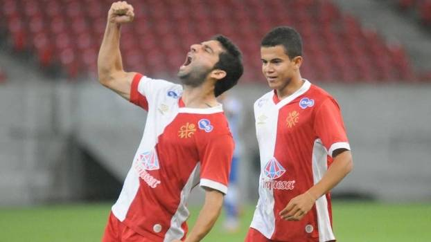 O náutico abriu o placar com o meia Pedro Carmona, ex-Palmeiras