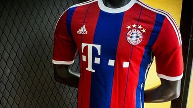 384d6474f5cac Semelhante à do Barcelona, nova camisa do Bayern de Munique vaza na ...
