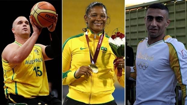 Conheça cinco histórias de porta-bandeiras dos Jogos Paralímpicos do Rio 2016