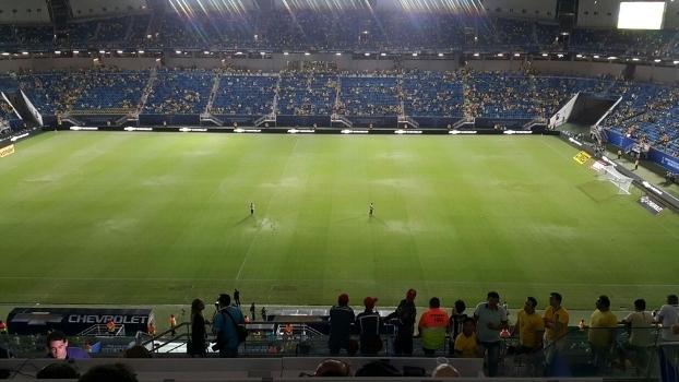 Arena das Dunas recebeu Brasil x Bolívia