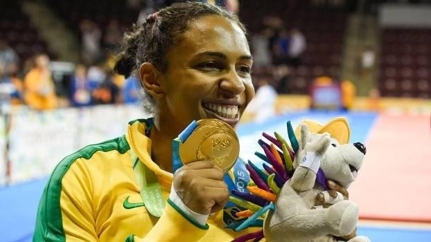 Érika Miranda conquistou o primeiro ouro do Brasil no Pan