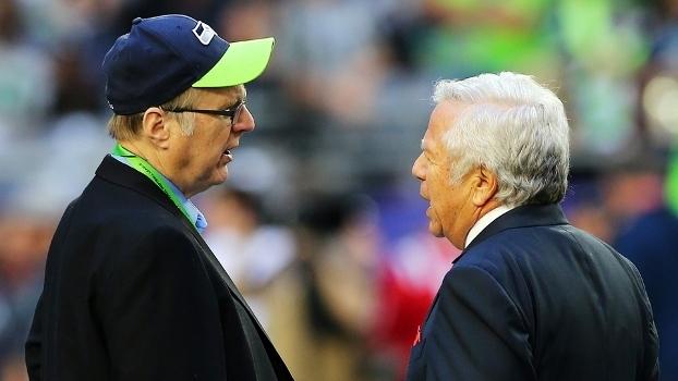 Paul Allen, dos Seahawks, e Robert Kraft, dos Patriots, também investem na bola redonda