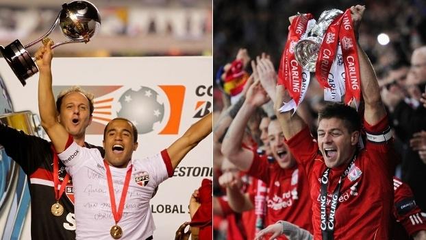 São Paulo e Liverpool conquistaram o último título em 2012