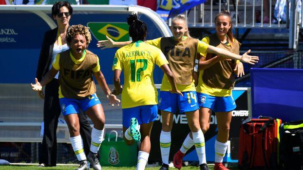 562ff473a3 Seleção feminina Sub-20.