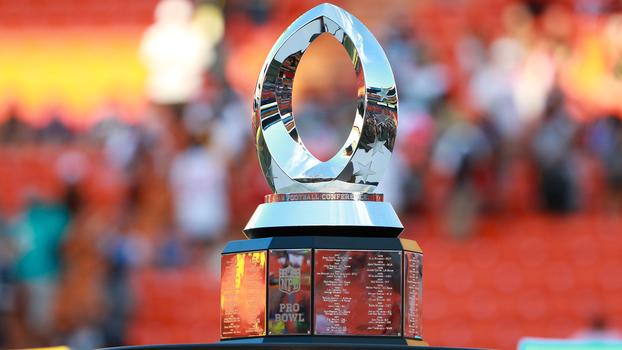 4cf483df2e O troféu do Pro Bowl