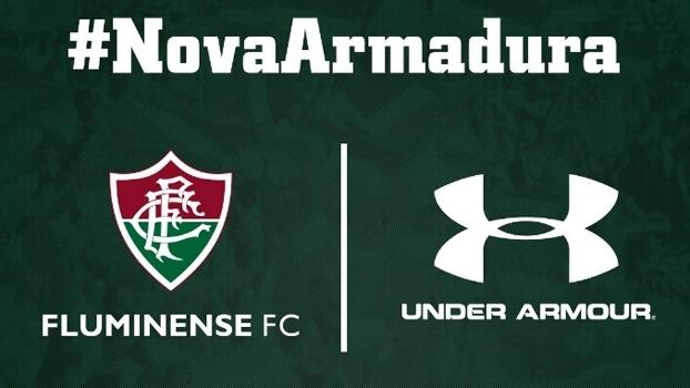 Fluminense anuncia Under Armour por 3 anos  uniformes estreiam dia ... 6f94f02a51511