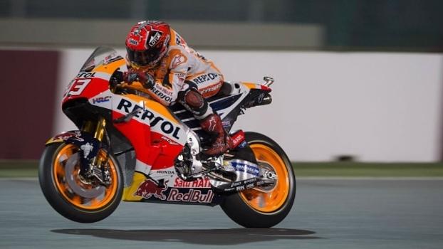 O espanhol Marc Marquez fez grande prova neste domingo