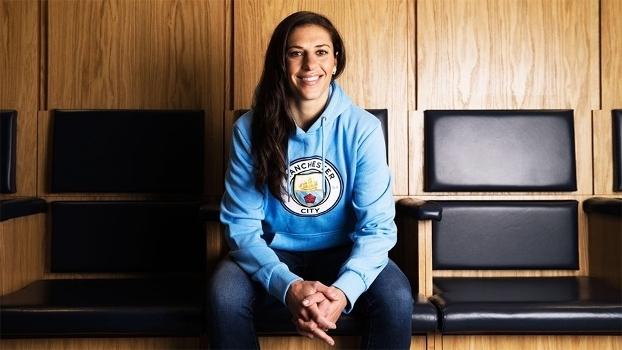 Carli Lloyd foi contratada pelo time feminino do Manchester City