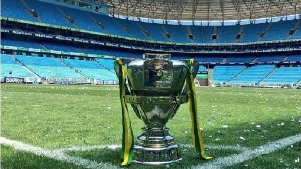 Clube irá expor a taça da Copa do Brasil na loja oficial do clube na Arena Grêmio