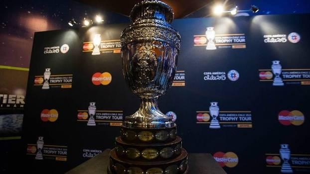 Troféu da Copa América é um dos mais antigos do mudno do futebol