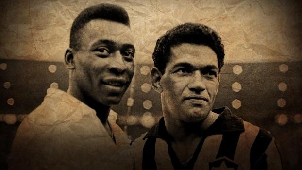 Pelé e Garrincha nunca perderam um jogo atuando juntos. Pudera! O planeta  jamais conheceu uma dupla como aquela 2bf3103f5074b