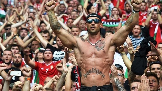 Hooligan Hungria Islandia Euro-2016 18/06/2016