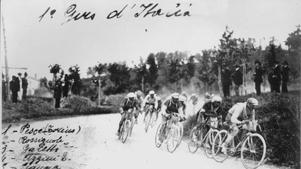 A primeira edição do Giro d'Itália ocorreu em 1909
