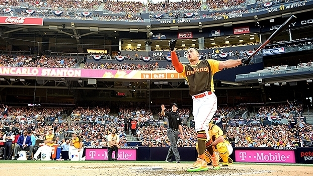 Giancarlo Stanton no Home Run Derby