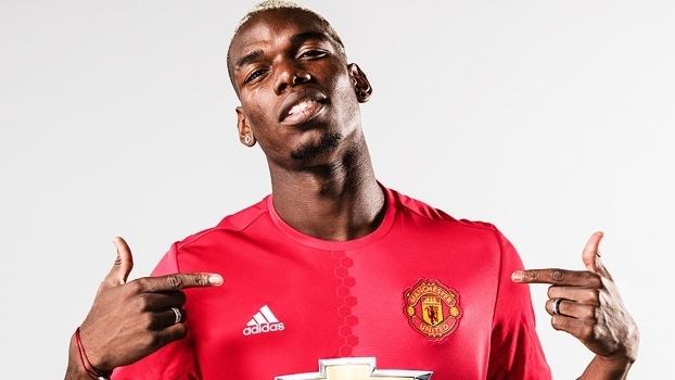 Paul Pogba Apresentação Manchester United 08 08 2016 b8973030694d9