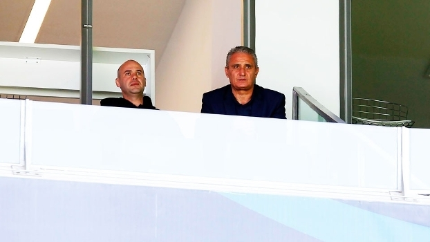 Tite acompanhou Grêmio e Corinthians no último fim de semana