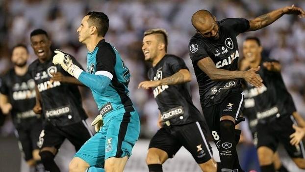 Botafogo passou pela fase pré-grupos e divide a liderança de sua chave