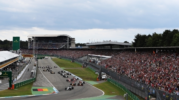 O Grande Prêmio de Hockenheim, na Alemanha, é um dos circuitos de volta ao Mundial