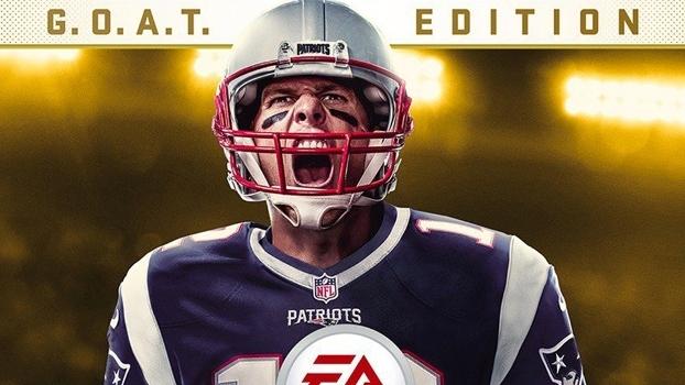 Tom Brady é o jogador mais velho a ser destaque na capa da franquia Madden.