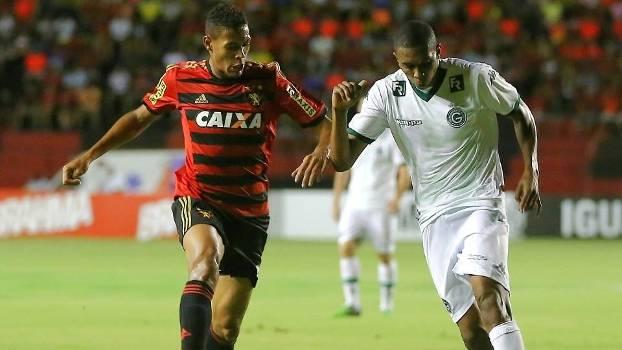 Sport recebeu o Goiás na Ilha do Retiro