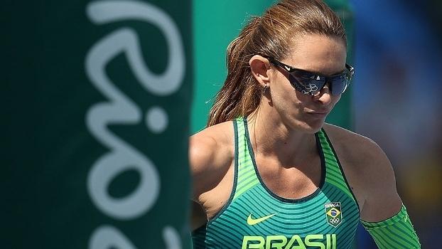 Fabiana Murer Salto Com Vata Rio-2016 16/08/2016
