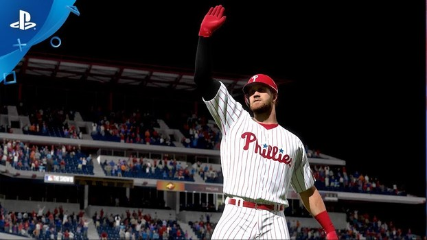 MLB The Show 19 tem Bryce Harper como capa e destaque do Philadelphia Phillies