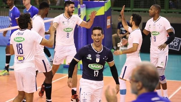 Sada Cruzeiro é um dos representantes do Brasil no Mundial
