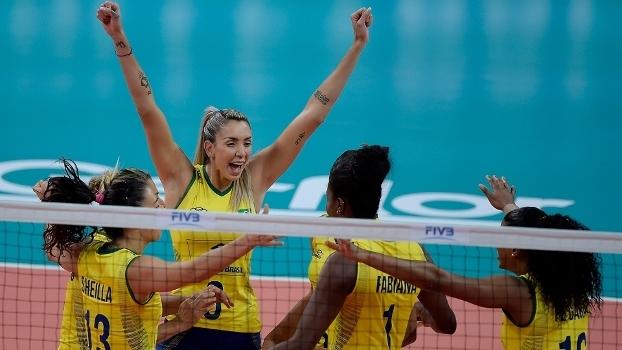 Seleção brasileira vai enfrentar a Itália nesta sexta
