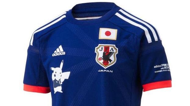 Pikachu fará parte da camisa da seleção do Japão vendida no país ... 9ab6aa97d6198