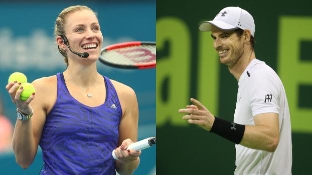 Como Murray e Kerber prosperaram no tênis em uma época de lendas