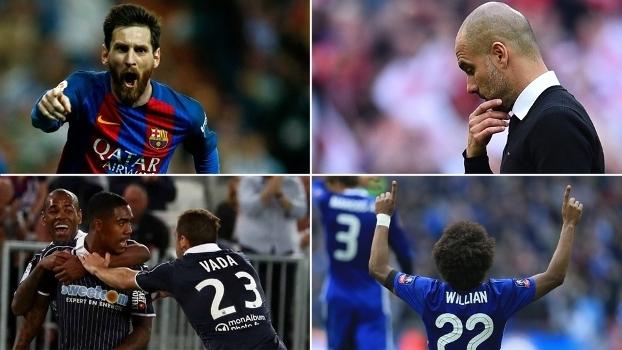 Guardiola zerado, Messi de outro planeta e ex-corintianos